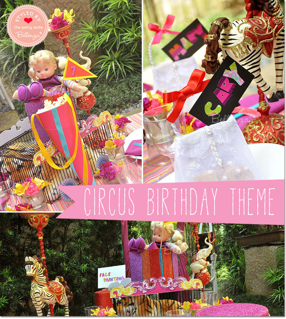 Theme: Circus-themed Birthday Party