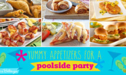Poolside Cocktail Party Menu Ideas