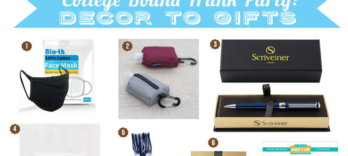 Planning Ideas for a College Bound Trunk Party: Decor to Gifts