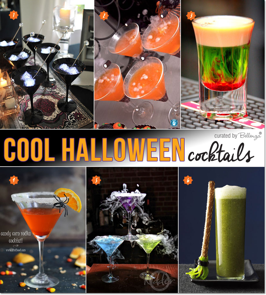 Cool Halloween Cocktail Ideas | as featured on the Party Suite at Bellenza