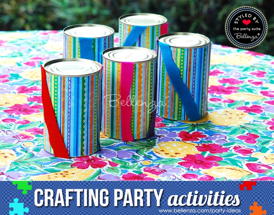 Create colorful cans