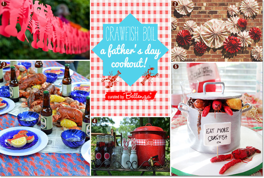 Crawfish boil decor and beverage ideas