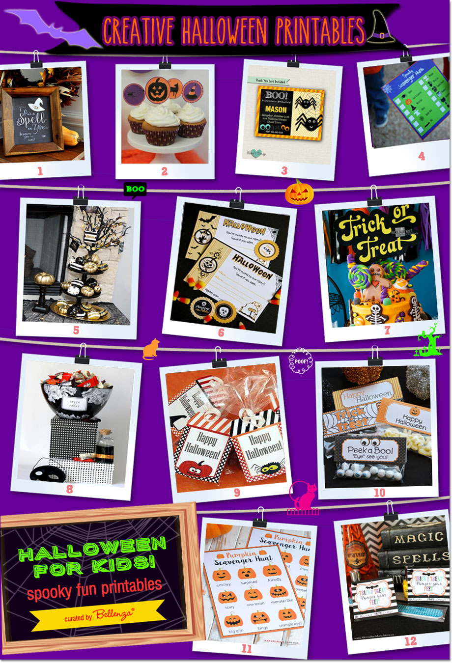 Halloween for Kids   Spooky & Fun Party Printables