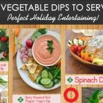 12 Veggie dips for Christmas dinner parties