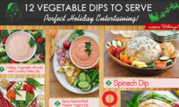 12 Veggie dips for Christmas dinner parties