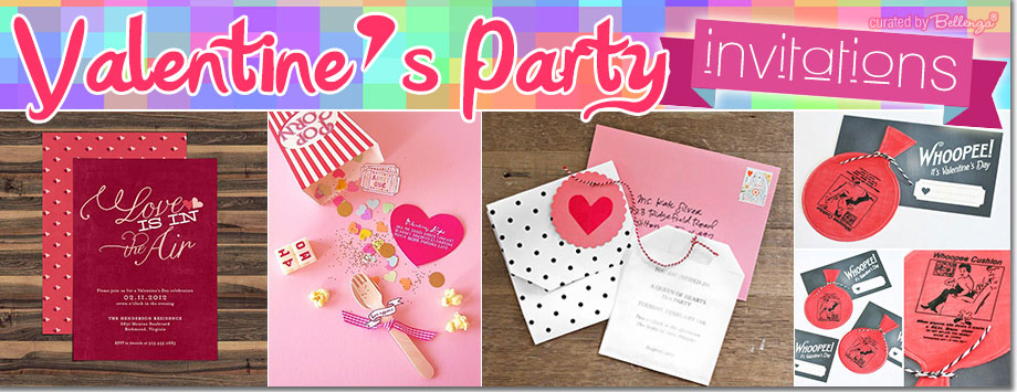 Cute and creative Valentine's invitations cards