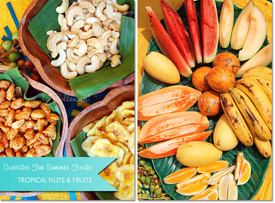 Father's Day BBQ Nuts and Tropical Fruits | The Party Suite at Bellenza