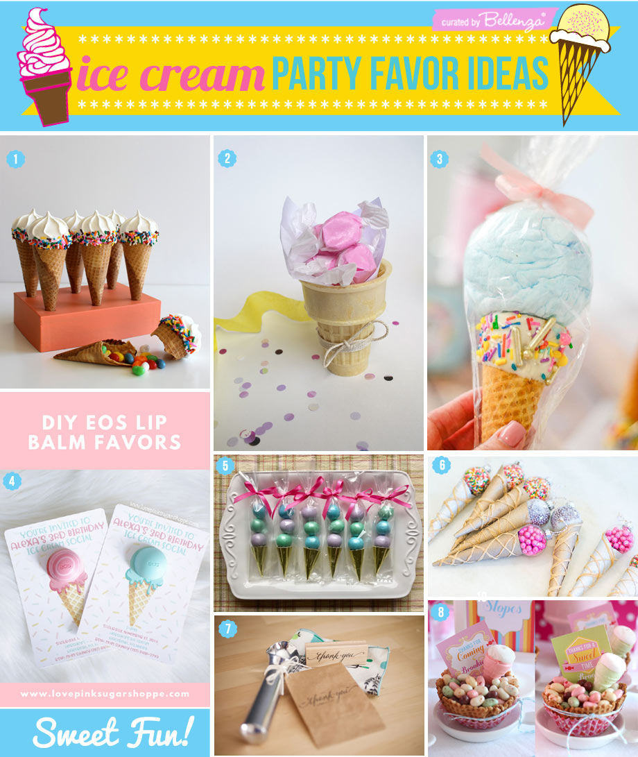 DIY ice cream favor ideas to make at home