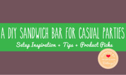 Sandwich Buffet Ideas and Inspiration