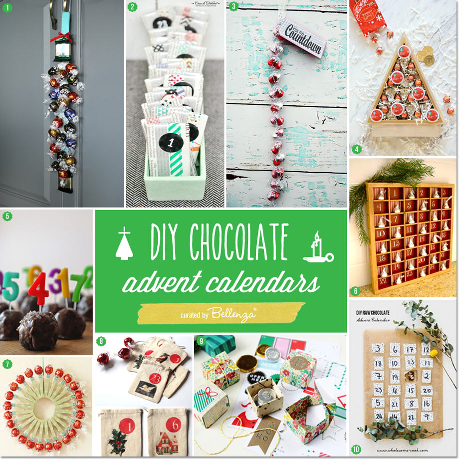 10 Advent Calendars You Can Make. Easy and Chocolate-y!