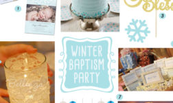 Winter Baptism Ideas from the Cake to the Decorations