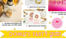 Donuts Party Theme with Sweet Glamorous Ideas