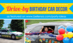 Drive-by Birthday Car Surprise Parade