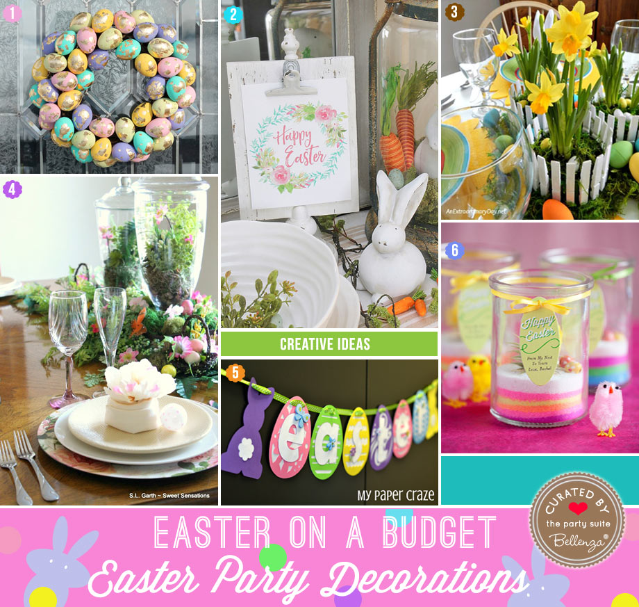 Easter Party Decorations to Make on a Budget