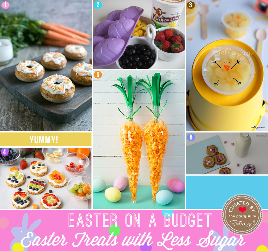 Easter Treats with Less Sugar, Healthier