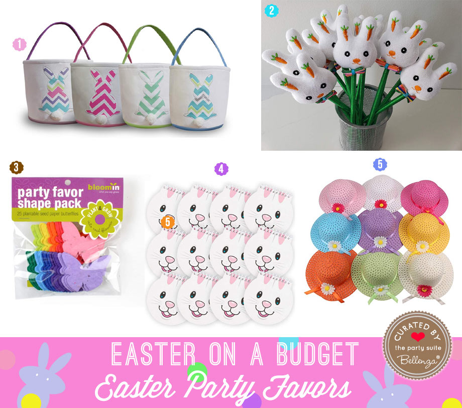 Easter Party Favors on the Cheap