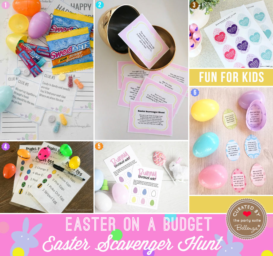 DIY Printable Easter Scavenger Hunt