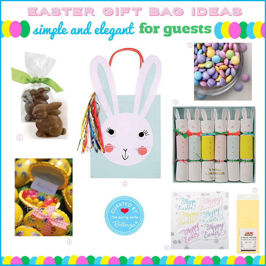 Elegant Easter Gift Bag Ideas for Guests