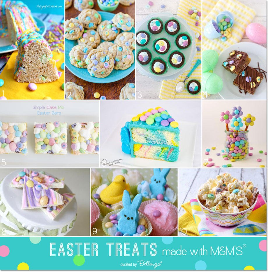 Wondering what you can do with M&Ms this Easter? Take a look!