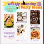 Cute and Easy Halloween Party Desserts & Treats #cutehalloweentreats