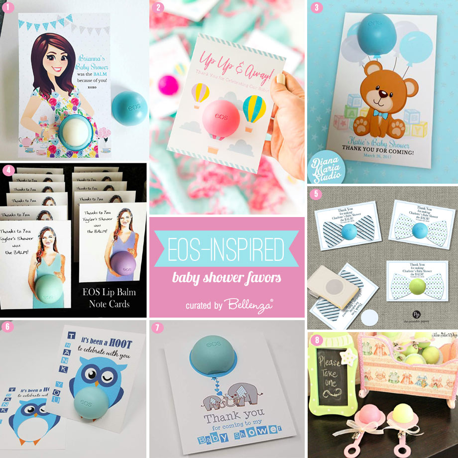 Eos Inspired Baby Shower Favor Ideas Popping Up Unique Party