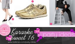 Karaoke sweet 16 party theme