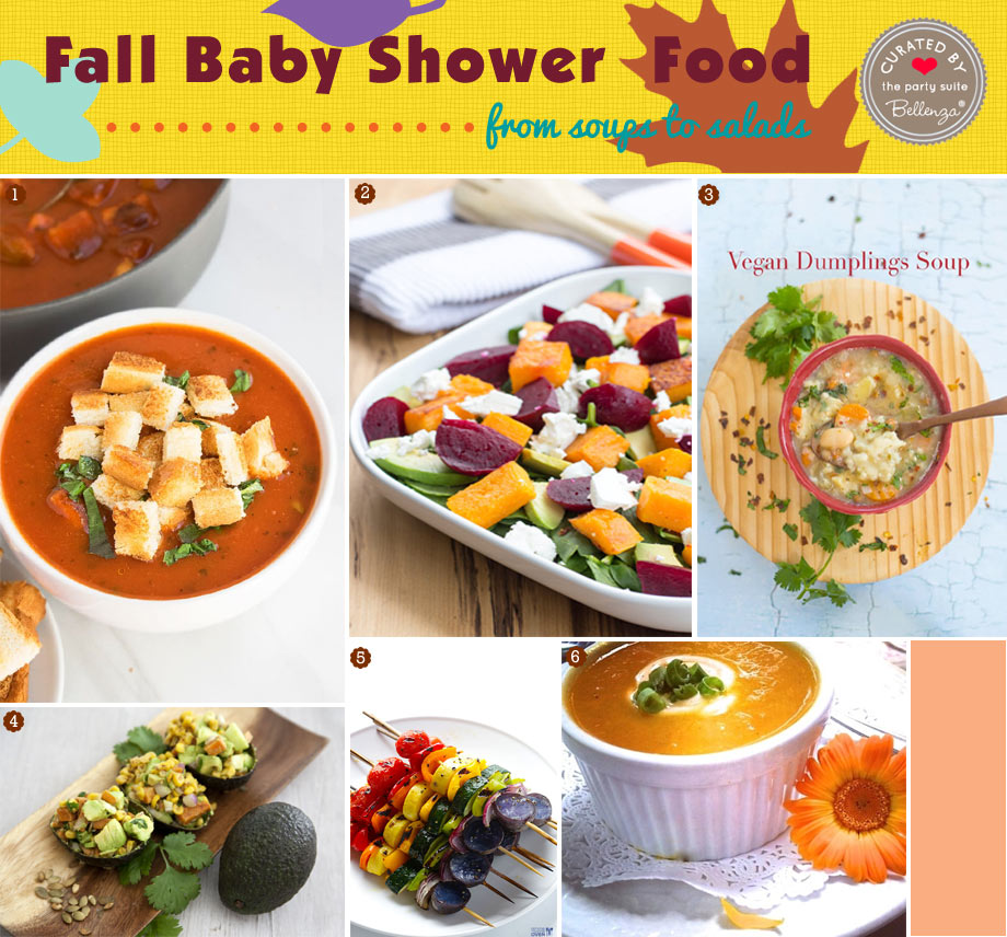 Fall Soup and Salads