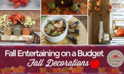 at-home fall parties on a budget