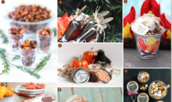 Fall favors in bottles, jars, and mini buckets // Curated Finds by Bellenza.
