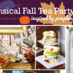 How to Style a Whimsical Fall Tea Party Inspired by Pumpkins