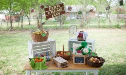 Farmer's Market Themed Birthday by Danielle Riojas