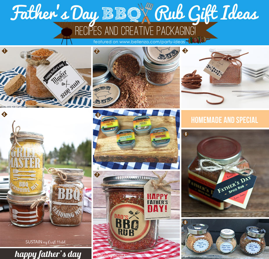 BBQ Rubs & Spice Mixes for Dad on Father's Day