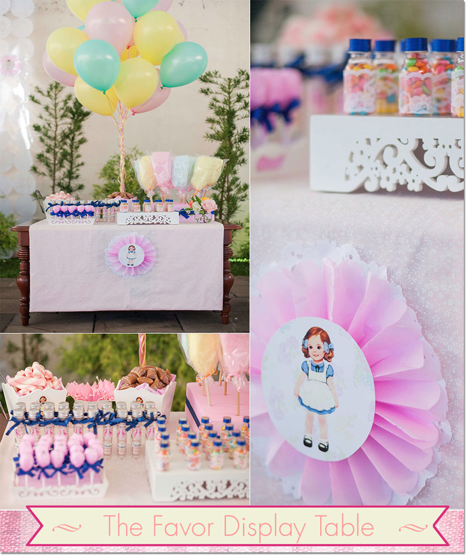 Party favors from Festa Com Gosto