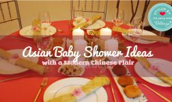 Asian Baby Shower with a Modern Chinese Flair