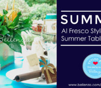 Al fresco style summer tablescapes for easy entertaining