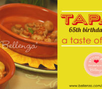 Tapas birthday party for Dad