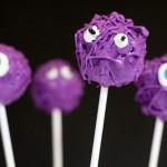Scary cake pops