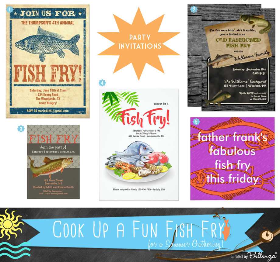 Invitations to a Fish Fry