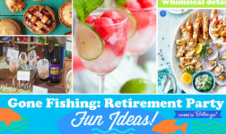 Fishing Retirement Party Ideas from Decor to Favors