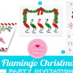 Flamingo themed Christmas Ideas