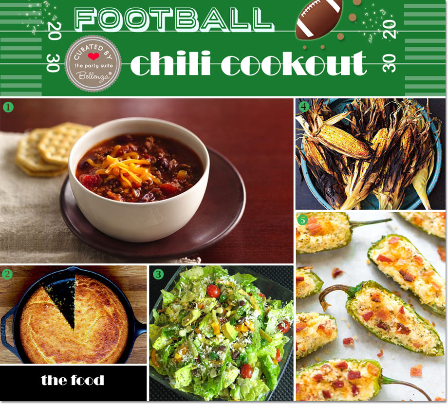 Football Chili Birthday Party