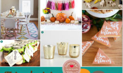 Friendsgiving decorations // curated ideas from Bellenza