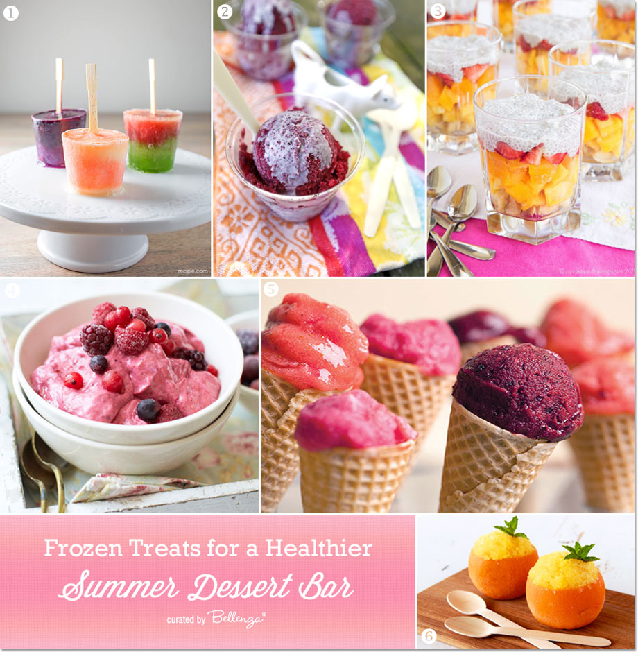 Fruit-based Summer Dessert Recipes and Ideas for a Summer Dessert Bar! #healthysummerdesserts #fruitdesserts
