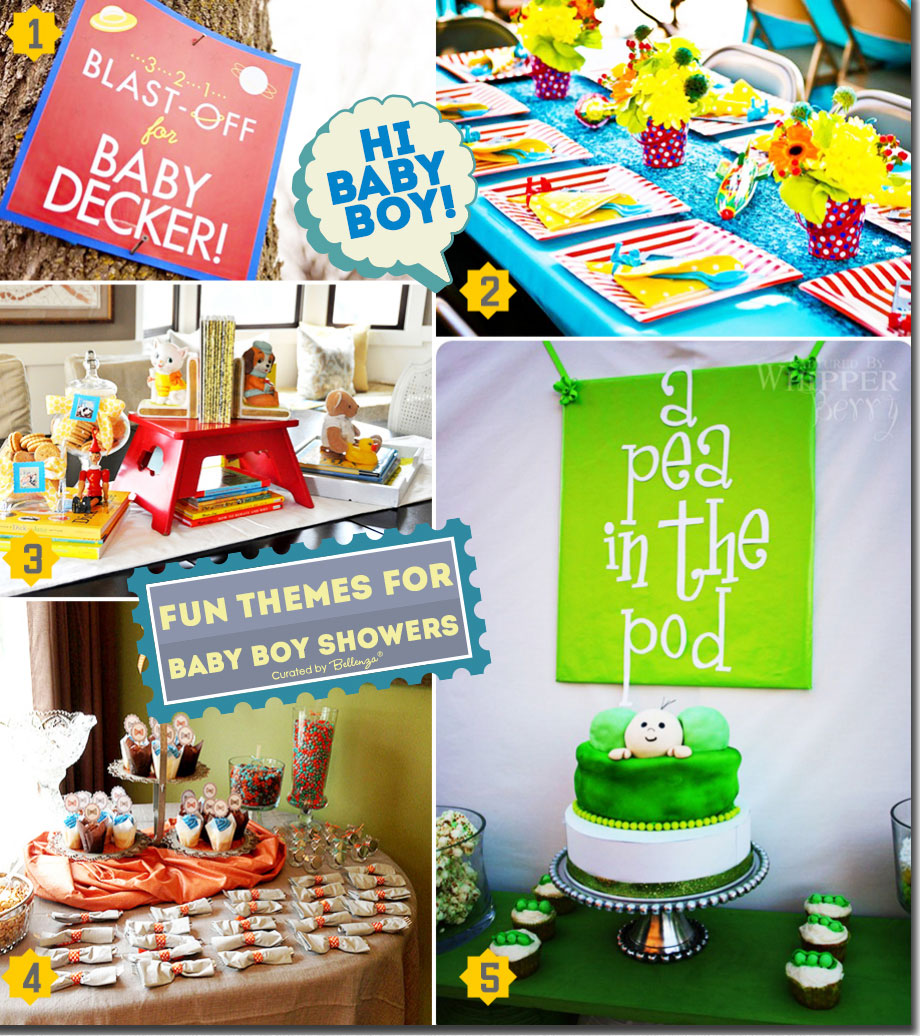 fun baby shower themes that are interactive