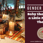 Gender neutral fall baby shower ideas