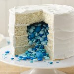Gender reveal cake. Photo credit Betty Crocker