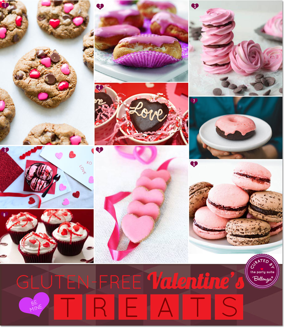 Baked Treats for a Gluten-Free Valentine's Day!