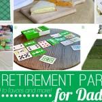 Golf par-tee for retirement party