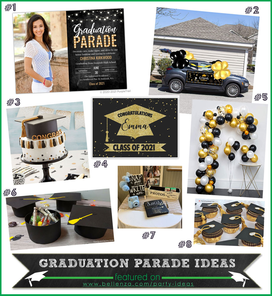 Graduation Parade Drive-by Party Ideas