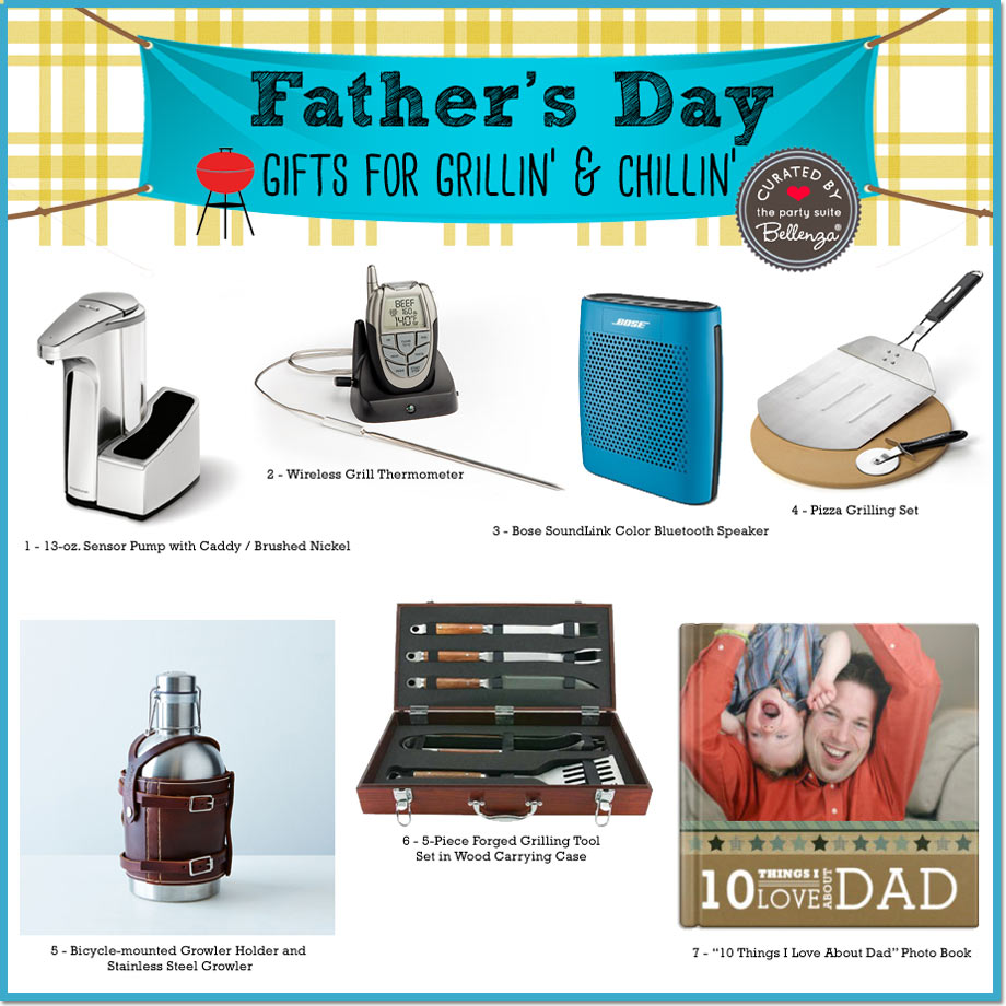 Cool Gadgets for Grillin' and Chillin' Father's Day Gifts | Bellenza